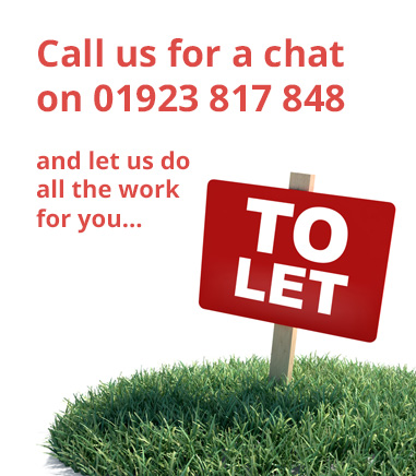 Call us for a chat today on 01923 817 848